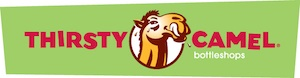 Thirsty Camel Logo - Banner - Green