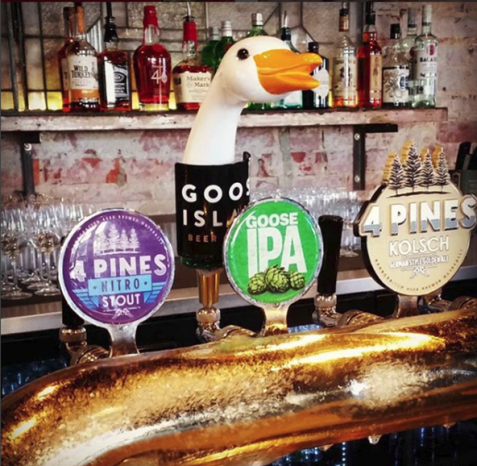 The Wembley - what's on tap